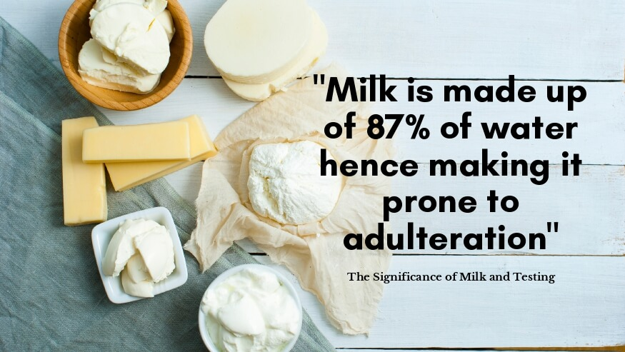 The Significance of Milk and Testing