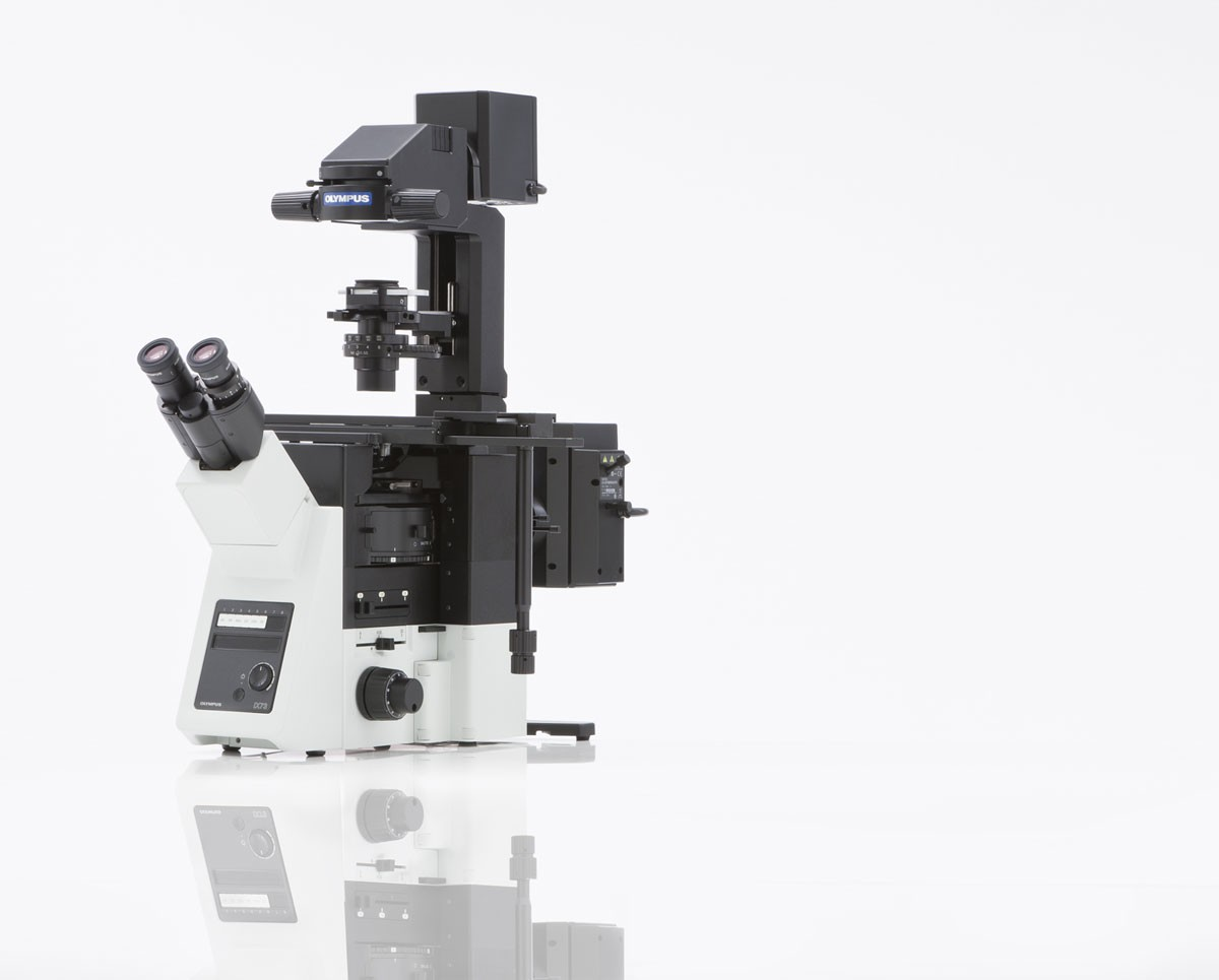 Olympus Ix73 Microscope Inverted Microscope System In