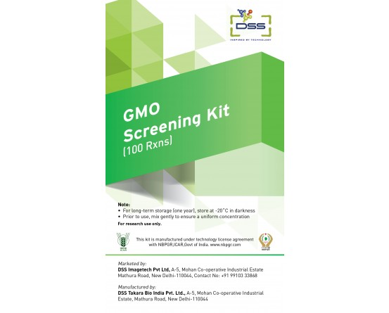 DSS Imagetech GMO Screening  Kit in India