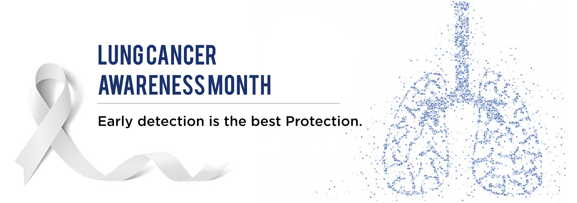 lung cancer awareness month by DSS Imagetech