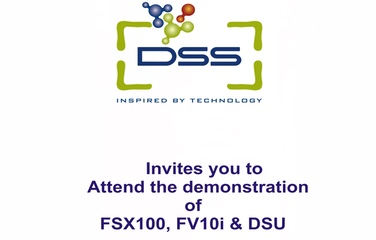 DSS Imagetech Invitation For The Demonstration Of Fsx100, Fv10i, Dsu