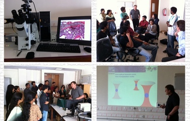 Workshop On Laser Micro Dissection & Optical Tweezing By DSS Imagetech